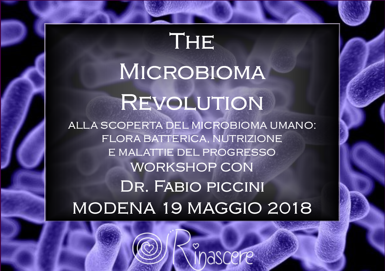 the microbioma revolution