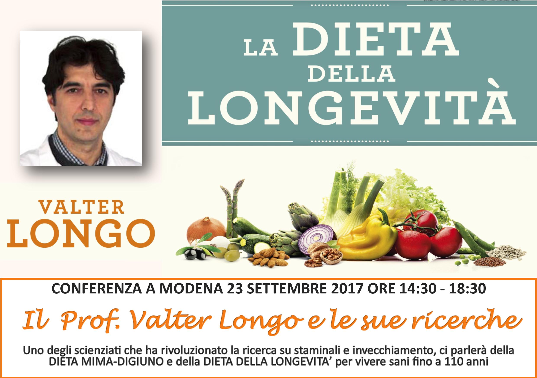 longo dieta longevità